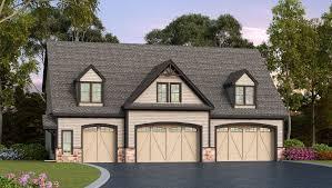 plan 29870rl residential 5 car garage plan 2nd floor house