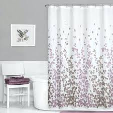 Purple And White Curtains Purple Grey Curtains Abstract Purple Grey Shower Curtain Purple N
