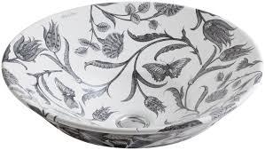 kohler botanical study circular vessel bathroom sink u0026 reviews