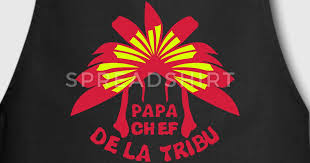 coiffe de cuisine tablier papa chef tribu coiffe indienne spreadshirt
