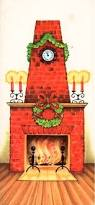 313 best old fashioned christmas cards fireplaces images on