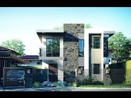 Elegant Two Story Modern House  Design Architecture and Art