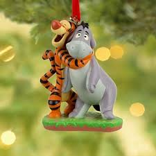 tigger hugging eeyore sketchbook ornament 2013 from our