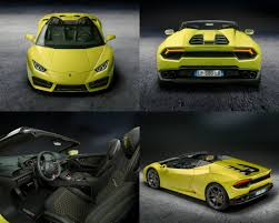 convertible lambo lamborghini huracan spyder rear wheel drive version torque