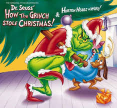 dr seuss grinch stole christmas u0026 horton hears