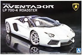 Lamborghini Aventador Lp700 4 Roadster - aoshima 08652 lamborghini aventador lp700 4 roadster 1 24 scale