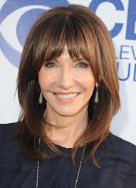 long hairstyles for women over 60 with bangs hairstyles medium length for women