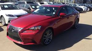 lexus vehicles youtube 2014 lexus is 250 awd premium f sport package review in matador