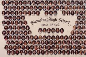 class yearbook miamisburg ohio high school class of 1982