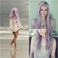 Frisuren F Lange Wenige Haare by Knallige Lila Haarfarbe Berühmtheiten Haare Und Frisuren Lila
