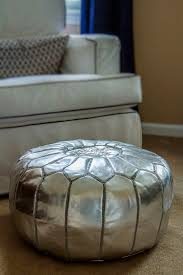 Leather Moroccan Ottoman by 106 Best Moroccan Pouf Images On Pinterest Moroccan Pouf Poufs