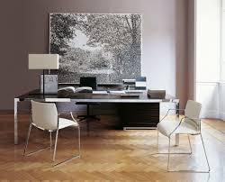Chefschreibtisch Chefschreibtisch Holz Stahl Glas Progetto1 By Monica