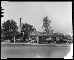 texaco service station woodland avenue gas station men