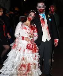 Zombie Bride Groom Halloween Costumes Halloween Zombie Walk London