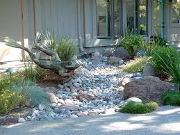 dry creek bed landscaping stones designs ideas and decor