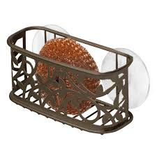 Suction Sponge Holder Sink by Vine Kitchen Sink Suction Sponge Holder Interdesign