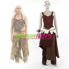 Game Thrones Halloween Costumes Daenerys Game Thrones Daenerys Targaryen Dothraki Costume Dress