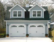 Gabled Dormer Custom 24x24 Reverse Gable Garage With Gable Dormers Driveway