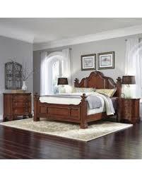 Santiago Bed Frame Spectacular Deal On Home Styles Santiago King Bed 2 Stands