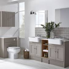 Ensuite Bathroom Furniture Burford Mocha Fitted Bathroom Furniture Roper