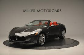 maserati 4 door convertible 2017 maserati granturismo convertible sport stock m1636 for sale