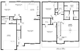 two story open floor plans 2 floor home plans luxamcc org