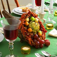craft a thanksgiving cornucopia centerpiece thanksgiving