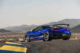 acura supercar this tuned acura nsx is a lighter faster and stronger version of