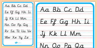 form capital letters year 1 handwriting resources page 1