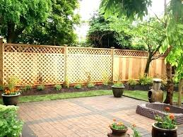 Small Backyard Privacy Ideas Small Backyard Privacy Ideas Small Fence Ideas Backyard Fencing