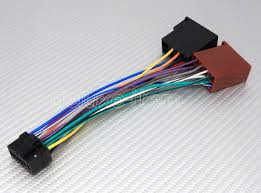 alpine car stereo radio 16 pin iso wiring connector 2