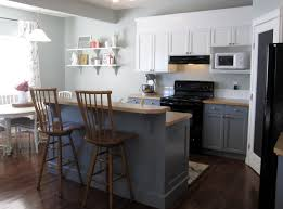 kitchen island different color than cabinets 400 00 kitchen renovation two toned painted cabinets molding