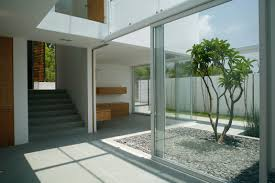 Courtyard Designs by Contemporary Building Design Imanada Modern Architecture Designs