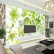 Fashion Designer Bedroom Photo Wallpaper 3d Flower Wallpaper Bedroom Kid Room