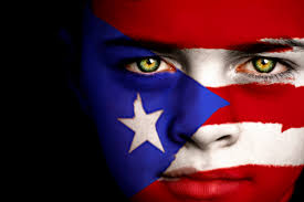 Flag Face Puerto Rican Boy Proclaim His Name