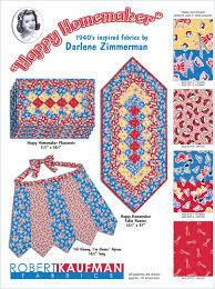 happy homemaker free pattern robert kaufman fabric company