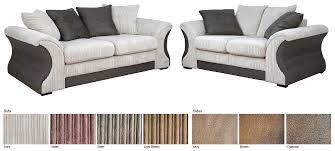 Cameo Sofa Suite Contemporary Piece Corded Ivory Upholstery Room - Cameo sofa