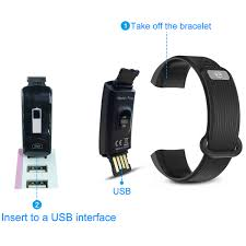 bracelet gps tracker images Fitness tracker hizek activity tracker with heart rate monitor jpg