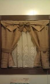 how to make burlap cafe curtains guest post recipe cafe