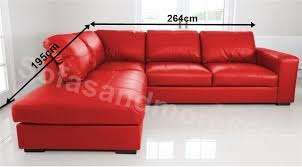 Leather Corner Sofa Bed Red Leather Corner Sofa Bed Centerfieldbar Com
