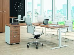 bureau avec caisson dossier suspendu bureau d angle avec caisson alérion