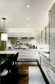 High Hat Lights Aurora Square 3 3 Inch Recessed Light Contemporary Kitchen