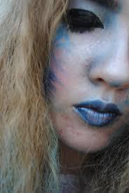 dainty sprinkles ice queen halloween makeup