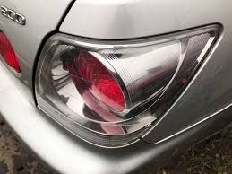 lexus chrome lexus sportcross is200 is300 driver rear light clear chrome sport