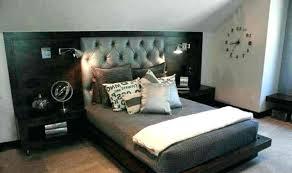 bedroom colors for men room colors for guys bedroom decor ideas for men wood bed frame grey