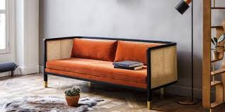 décoration canapé deco orange associer l orange en déco quelle pièce accepte l