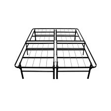 night therapy deluxe platform metal queen bed frame foundation