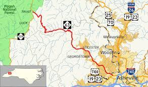 Map Of Asheville Nc North Carolina Highway 63 Wikipedia