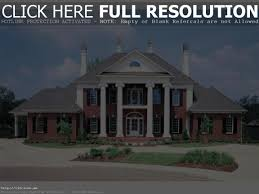 100 house plans colonial monclay traditional 2000 sq ft southern