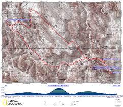 Map Of Mesa Az Superstition Wilderness Black Top Mesa Loop Weaver Needle Loop
